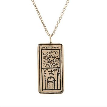 Enlightenment Tarot Necklace
