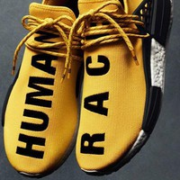 Original Adidas Pharrell Williams X NMD Human Race Running Shoes NMD Runner men and women Trainers Sneakers Boots Size 36-45 for sale