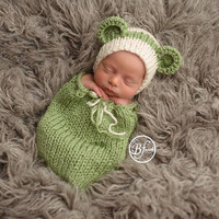 Newborn Baby Girls Boys Crochet Knit Costume Photo Photography Prop = 4457516036