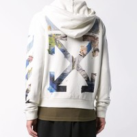 Off White Autumn Winter Men Women Casual Print Hoodie Pullover Top Sweater Sweatshirt