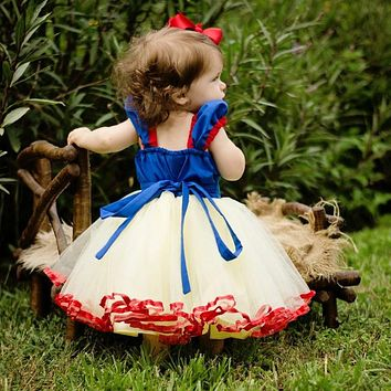 Baby Party Dress Girls Baptism Clothes Princess Dress Toddler 1 2 Years Baby Girl Birthday Outfits