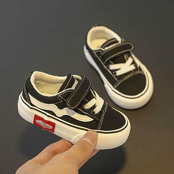 Baby Shoes Children Canvas Shoes 1-12 Years Old Soft-soled Boys Shoes Baby Girls Sports Toddler Shoes Casual Shoes Kids Sneakers
