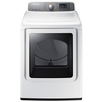Samsung 7.4 cu. ft. Electric Dryer with Steam in White-DV48H7400EW - The Home Depot