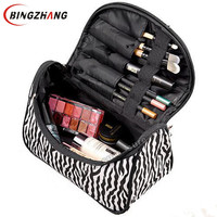 Professional Cosmetic Bag Large Capacity Portable Women Makeup cosmetic bags storage travel bags L4-1075