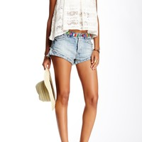 Eliot Embroidered Short