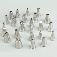 24PCS Lcing Piping Nozzles Tips Pastry Cake Cupcake Sugarcraft Decorating Tool = 1669386500