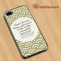 The Great Gatsby quotes custom case for all phone case