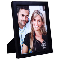 Decorative Black Wood Picture Photo Frame for Wall Hanging or Table Top
