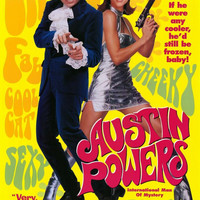 Austin Powers: International Man of Mystery 11x17 Movie Poster (1997)