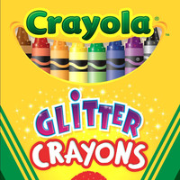 Glitter Crayons 16Ct