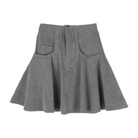 Flare Skirt With Pockets by Stylenanda