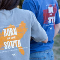 """Heritage Line """"Born in the South"""" Tees 