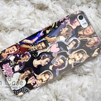 harry styles collage one direction design for iPhone 4/4s/5/5s/5c, Samsung Galaxy S3/S4 Case