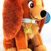 """Disney Lady and the Tramp Lady 6"""" Plush"""