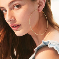 Tess Textured Hoop Earring | Urban Outfitters