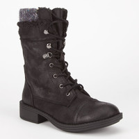 Roxy Amherst Womens Boots Black  In Sizes