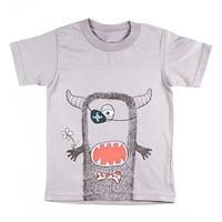 Boy's Creatures & Features 'Create Your Own Monster' Organic Cotton T-Shirt ,