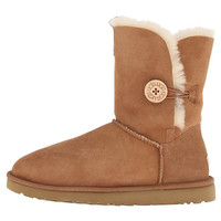 UGG Bailey Button Chestnut - 6pm.com