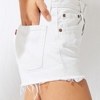 Urban Renewal Recycled Cutoff Denim Levi's Short | Urban Outfitters