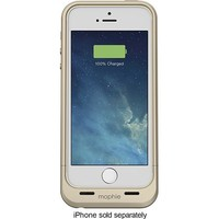 mophie - Juice Pack Air External Battery Case for Apple® iPhone® 5 and 5s - Gold
