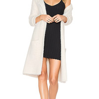 Sanctuary Super Soft City Coat in Winter White