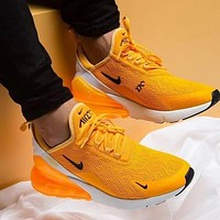 NIKE AIR MAX 270 Breathable running shoes-1