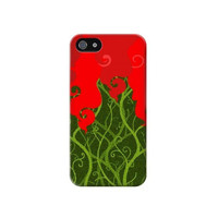 P2786 Poison Ivy Minimalist Phone Case For IPHONE 4