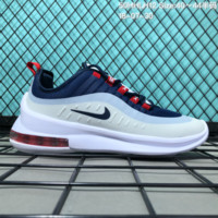 KUYOU N137 Nike 2018 Air Max AXIS 98 Cushion Breathable Causal Running Shoes Blue White Red