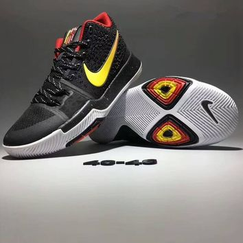 """""""Nike Kyrie 3"""" Men Fashion Sport Casual Breathable Sneakers Basketball Shoes"""