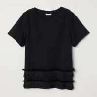 H&M Jersey Top with Fringe $8.99