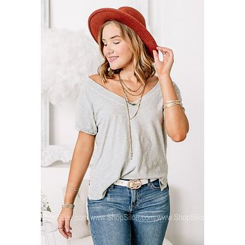 Carousel Of Dreams Mineral Washed Basic Top