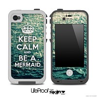 Rough Water Keep Calm and Be A Mermaid Skin for the iPhone 5 or 4/4s LifeProof Case