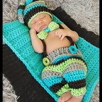 {RTS} Bright Striped overalls, top knot hat, bowtie, and layering set.    — Gracie's Garden Designs