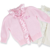 Little Angel Winged Cardigan Pink | Baby | Mud Pie