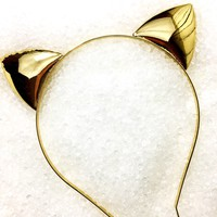 Solid Gold Kitty Ears