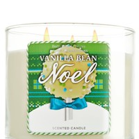 Vanilla Bean Noel 14.5 oz. 3-Wick Candle   - Slatkin & Co. - Bath & Body Works