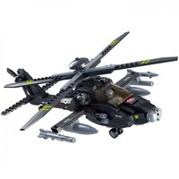 Apache Longbow Helicopter - Lego Compatible