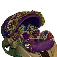 Custom Infant Car Seat Cover - Carousel- | BBSprouts - Children's on ArtFire
