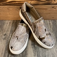 Corky Bronze Pine Top Cowhide Slip on Shoe