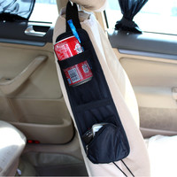 Car Seat Organiser Storage Bags Phone Magazine Drinks Container Auto Styling Traveling Gear Stuff Accessories Supplies Products