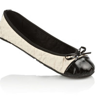 Butterfly Twists Olivia Quilted Ballet Flats