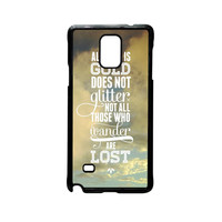 J.R.R Tolkien Quote Not all those who wander are lost for Samsung Galaxy and HTC Case