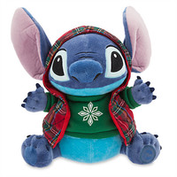 """Disney Store Share the Magic Stitch Holiday 12"""" Plush New with Tags"""