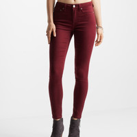 Seriously Stretchy Color Wash High-Waisted Jegging - Aeropostale
