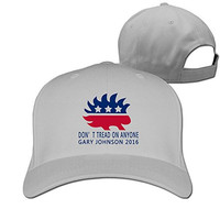 Gary Johnson 2016 Libertarian Party Adjustable Unisex Fitted Cap Hat