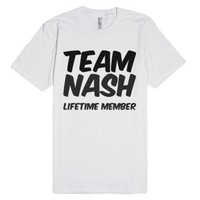 Team Nash Lifetime Member T Shirt-Unisex White T-Shirt