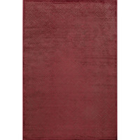 Jaipur Rugs Modern Geometric Pattern Red/Brown Rayon and Chenille Area Rug FB69 (Rectangle)