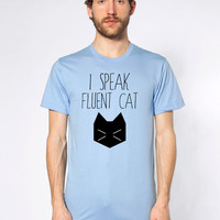 Unisex I Speak Fluent Cat Shirt