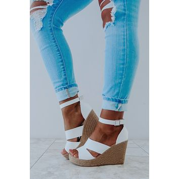 Goes With All Wedges: White