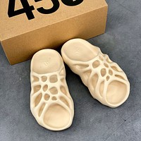 Adidas Yeezy 450 Slides Resin Adidas Coconut Full Resin Slippers Hole Shoes